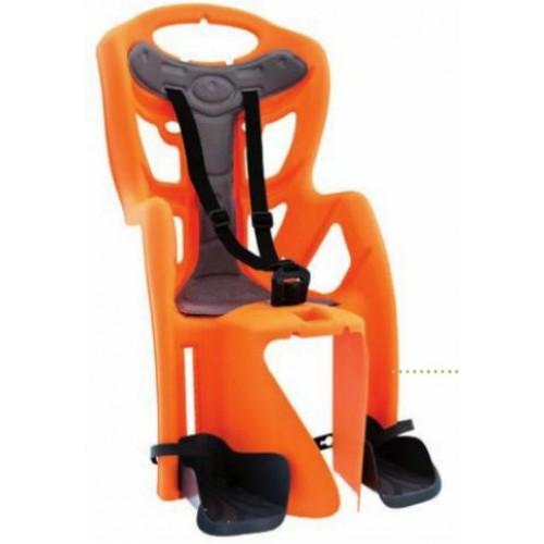 Кресло детское заднее, на багажник,  оранжевоеPEPE CLAMP