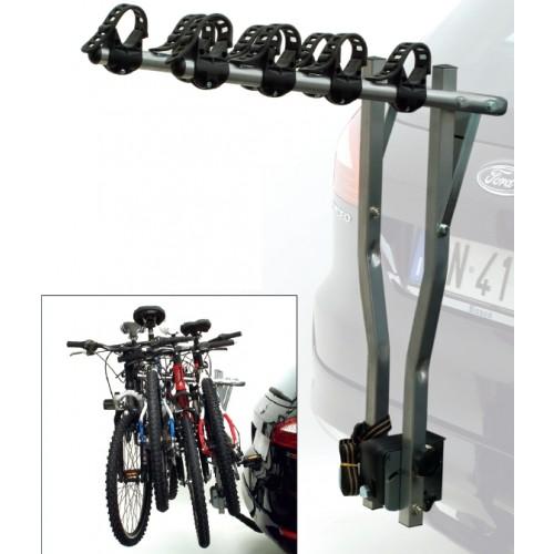 Багажник автомобильный, для перевозки велосипеда, стальной, задний, на фаркоп(под шарик)