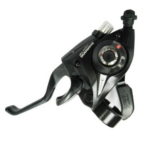 Шифтер/ручка тормоза Shimano Tourney, ST-EF51, прав/лев, 7ск, 2 пальца