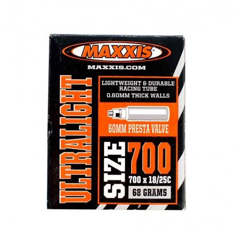 Камера 700x18/25c вело нип.48mm Maxxis Ultralight (IB69839000)