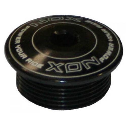 Болт прижимной М20, на левый шатун Shimano SLX, XT  черный алюмин.
