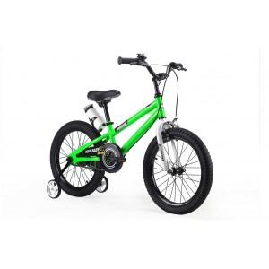 """Велосипед Royal Baby Freestyle 18"""", стальная рама, цв. Зеленый"""