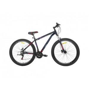 Велосипед KRAKKEN Salazar 18 черно-красный 2021