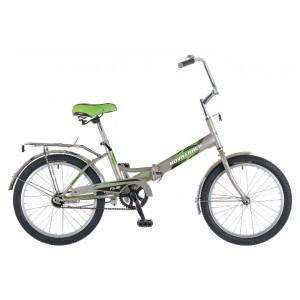 """Велосипед NOVATRACK 20"""" складной FS-30 серый"""
