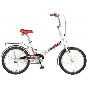 """Велосипед NOVATRACK 20"""" складной TG-30 белый"""