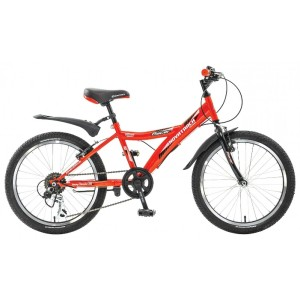 "Велосипед NOVATRACK 20"" RACER, сталь, 6-скор, Microshift TS50-6/Shimano"