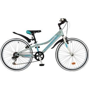 "Велосипед NOVATRACK 24"" ALICE голубой TY21/RS35/SG-6SI"