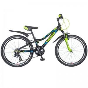 """Велосипед NOVATRACK ACTION 24"""" черный"""