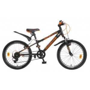 """Велосипед NOVATRACK EXTREME 20"""" черный"""