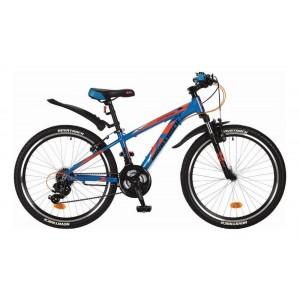 """Велосипед NOVATRACK EXTREME 24""""синий, рама 13"""""""