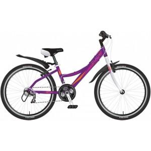 """Велосипед NOVATRACK LADY 24"""" фиолетовый"""