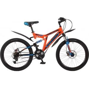 """Велосипед Stinger 24"""" Highlander 100D 14"""" оранжевый"""