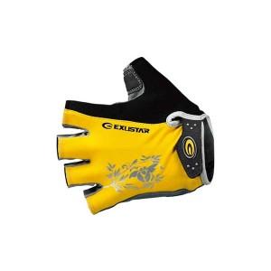 Перчатки Exustar, мод.CG430, p.M-XL, Lycra, замшевая ладонь усиленная, с пенообразными подушечками