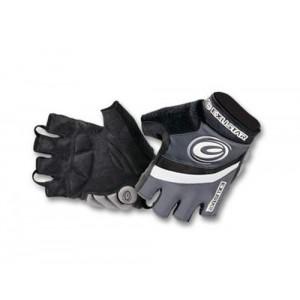 Перчатки Exustar,  Lycra, замшевая ладонь с гелевыми подушечками