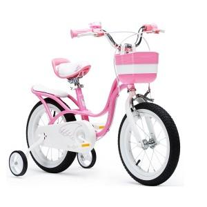 """Велосипед Royal Baby Little Swan 16"""" с багажником, стальная рама, цв.Розовый"""