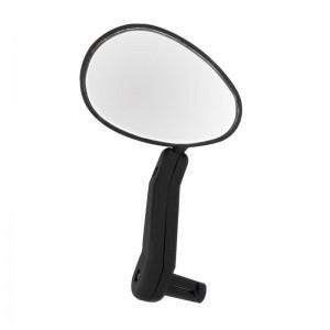 Зеркало левое/правое, в руль, сферическое, овальное, черное