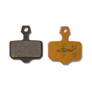 Колодки тормозные Alligator Organic для дисковых тормозов AVID ELIXIR/SRAM XX, с пружиной, в инд.упа