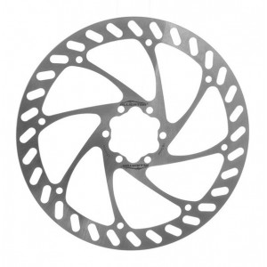 Ротор Alligator Pizza для дискового тормоза 180 мм, серебр., инд.упаковка
