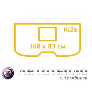 Автоодеяло Автотепло №26 для Daihatsu YRV с интеркуллером
