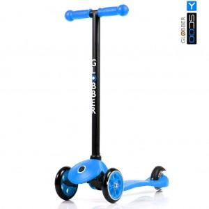 Самокат Y-SCOO RT GLOBBER с блокировкой колес My free FIXED blue