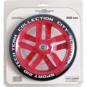 Набор колес и подшипников для самоката 200 мм 1/10