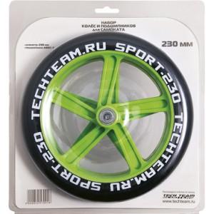 Набор колес и подшипников для самоката 230 мм 1/10