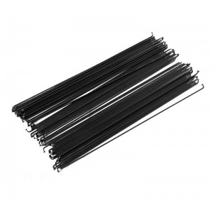 Спица стальная 45#, 14G L- 250mm, цвет черный