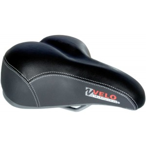 Седло Velo VL-6050W Suspension Series, с креплением, вес 772g, 250 x 210mm
