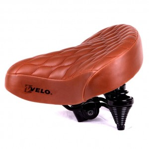 Седло Velo VL-7673 Suspension Series, с креплением, вес1134g, 255 x250,
