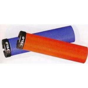 Грипсы Velo VLG-985 1AD3  FOAM 129мм синий